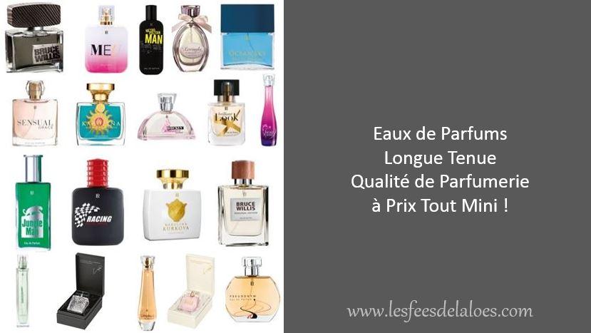 La qualité des Parfums LR
