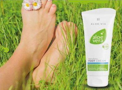 [FICHE PRODUIT] Crème pour les pieds Aloé Vera