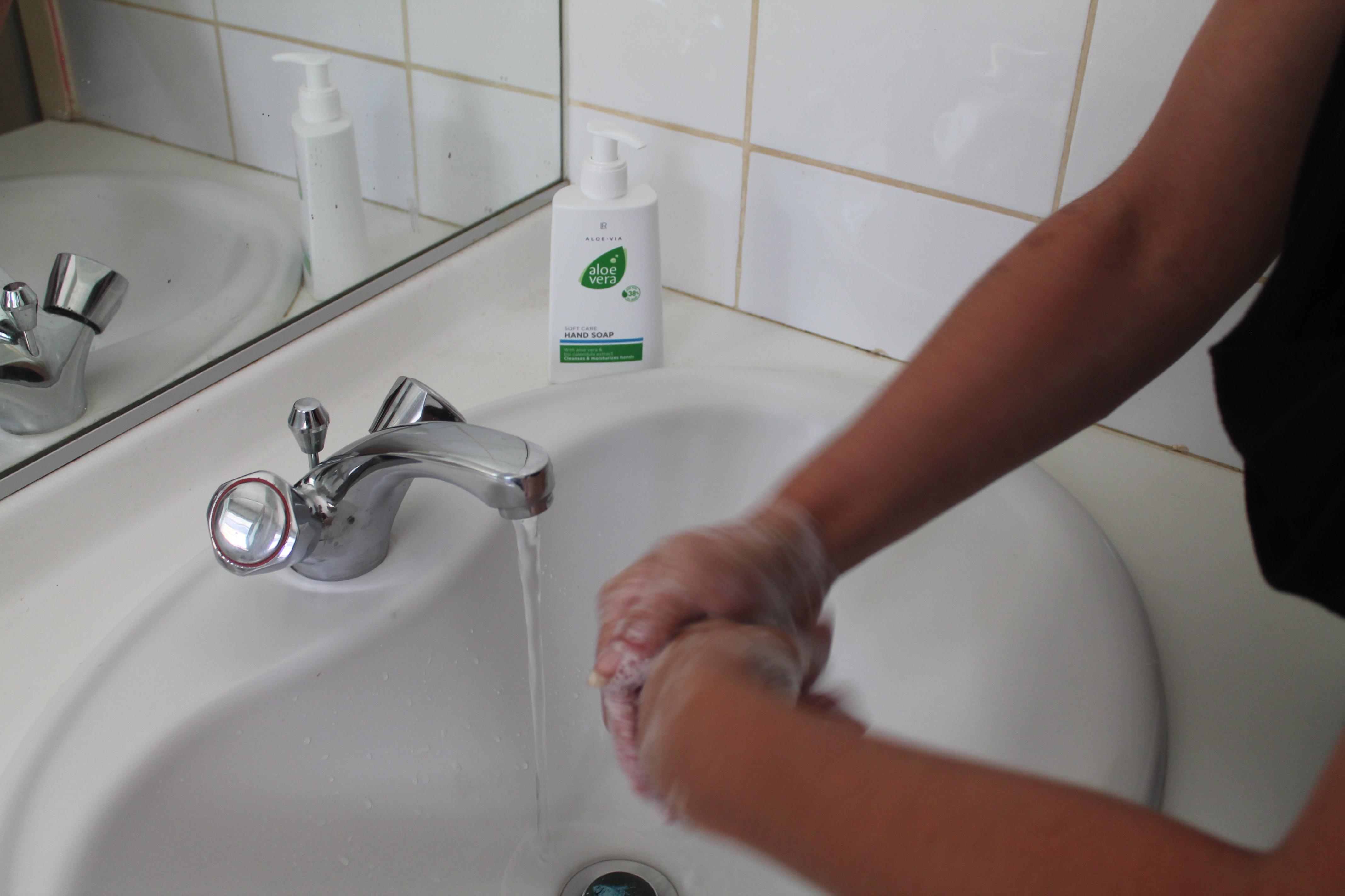 [FICHE PRODUIT] Crème lavante pour les mains à l'Aloé Vera