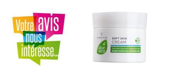 [FICHE PRODUIT] Soft skin crème corporelle Aloé Véra