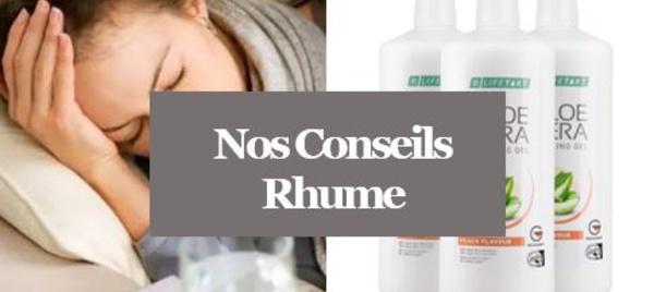 Rhume - Comment soigner un Rhume plus vite avec l'Aloé vera?