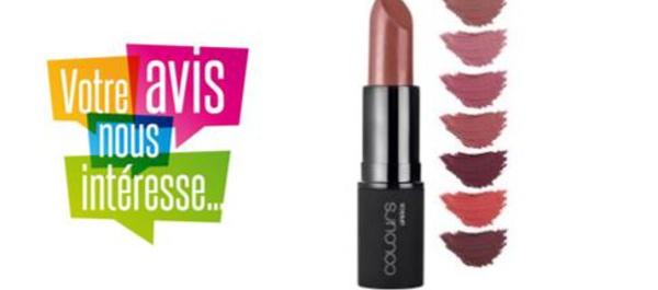 [FICHE PRODUIT] Rouge à lèvres Colours