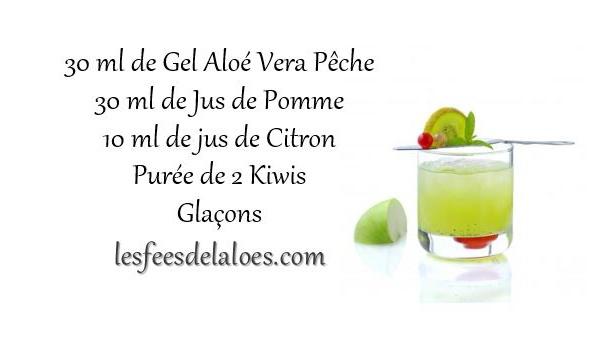 Recette Cocktail Aloé Vera N°9