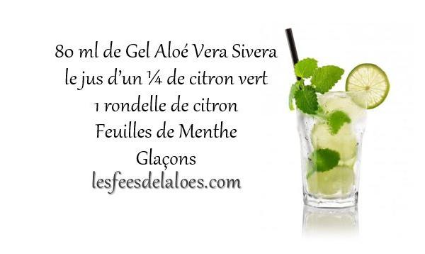 Recette Cocktail Aloé Vera N°2