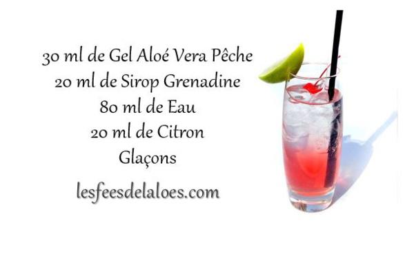 Recette Cocktail Aloé Vera N°3