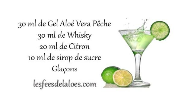 Recette Cocktail Aloé Vera N°5