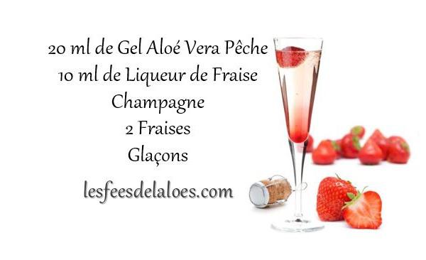 Recette Cocktail Aloé Vera N°6