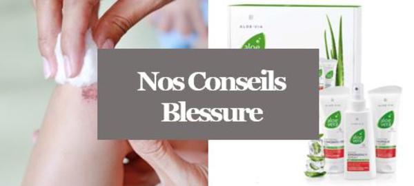 Blessures - Comment soigner toutes les petites Blessures avec nos produits Aloé Vera ?