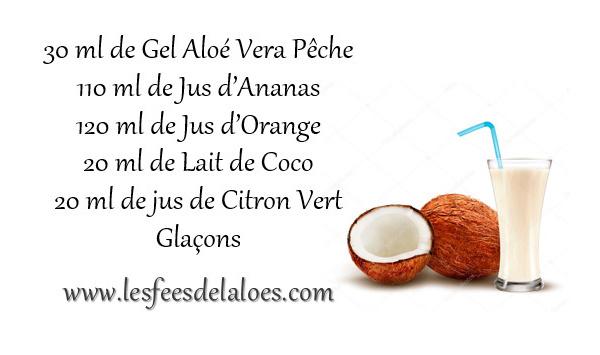 Recette Cocktail Aloé Vera N°10