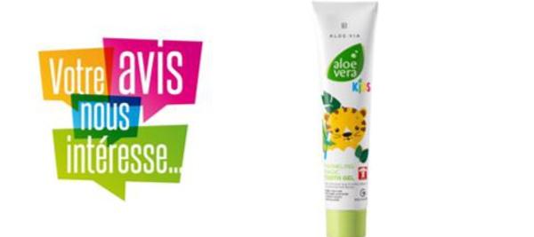 [FICHE PRODUIT] Aloe Vera KIDS - Dentifrice adapté pour les dents de lait