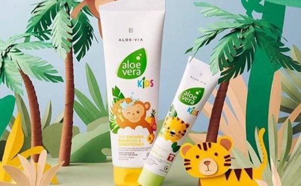 ALOE VIA KIDS - 3 en 1 Gel douche, Shampoing, Après-shampoing