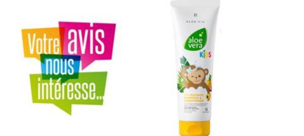 [FICHE PRODUIT] Aloe vera KIDS - 3 en 1 Gel douche, Shampoing, Après-shampoing