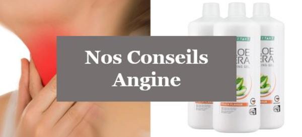 Angine - Comment accélérer la guérison d'une Angine ?