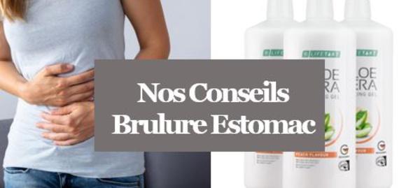 Brulures d'Estomac - Comment ne plus souffrir des Brulures d'Estomac avec l'Aloé Vera?
