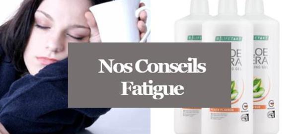Fatigue - Combattre la Fatigue avec nos produits Aloé Vera