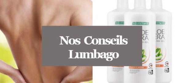 Lumbago - Soulager un Lumbago avec l'Aloé vera