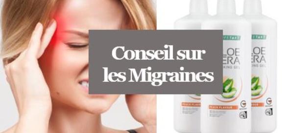 Migraine - Soulager une Migraine avec l'Aloé Vera
