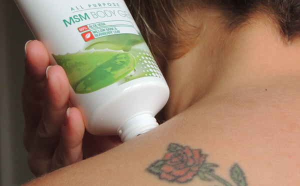MSM Body Gel - Douleurs articulaires