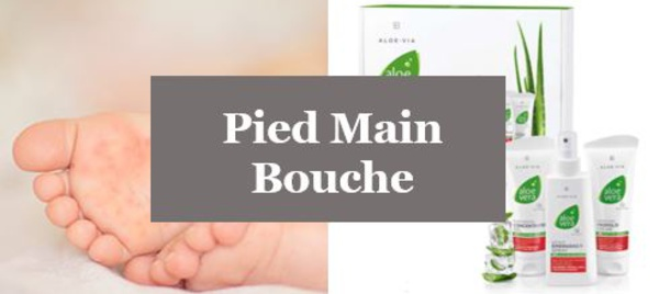 soulager pied main bouche