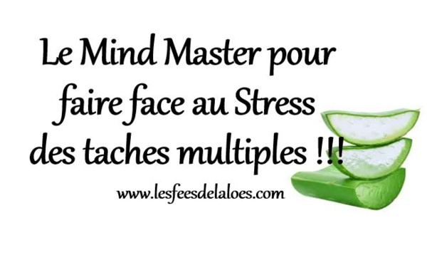 Le Mind Master pour faire face au Stress des taches multiples !!!
