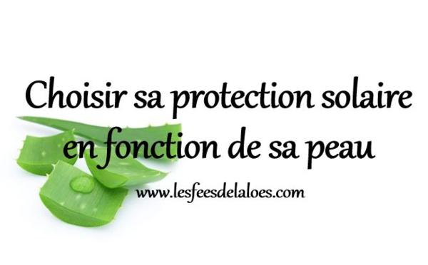 Choisir sa protection solaire en fonction de sa peau