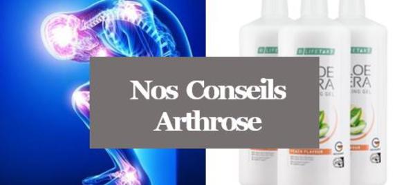Arthrose - Soulager l'Arthrose avec l'Aloé Vera
